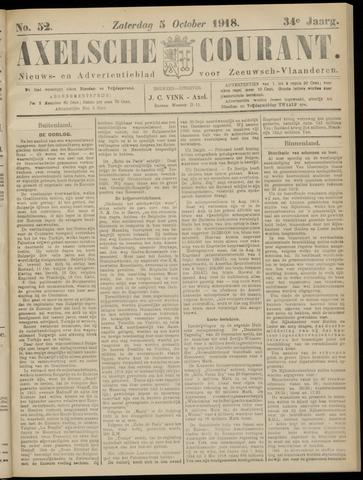 Axelsche Courant 1918-10-05