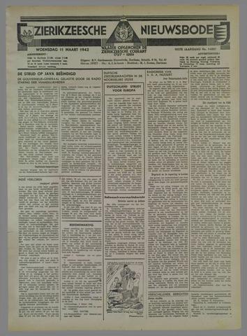 Zierikzeesche Nieuwsbode 1942-03-11