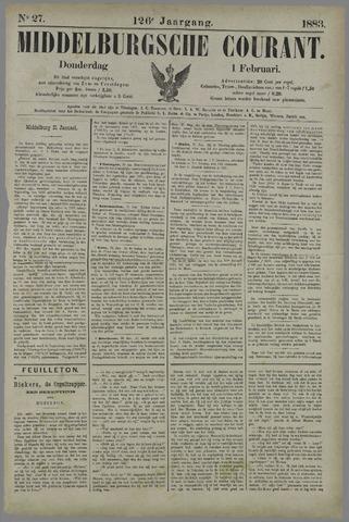 Middelburgsche Courant 1883-02-01