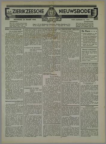Zierikzeesche Nieuwsbode 1941-03-24