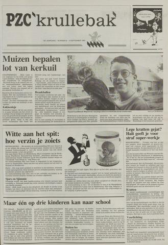 Provinciale Zeeuwse Courant katern Krullenbak (1981-1999) 1993-09-14