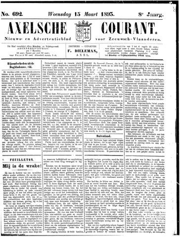 Axelsche Courant 1893-03-15