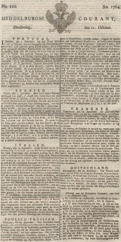 Middelburgsche Courant 1764-10-11