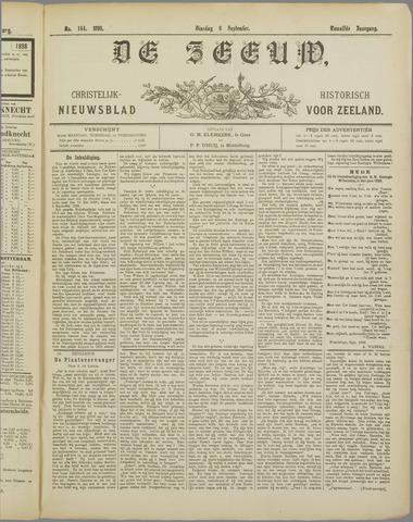 De Zeeuw. Christelijk-historisch nieuwsblad voor Zeeland 1898-09-06