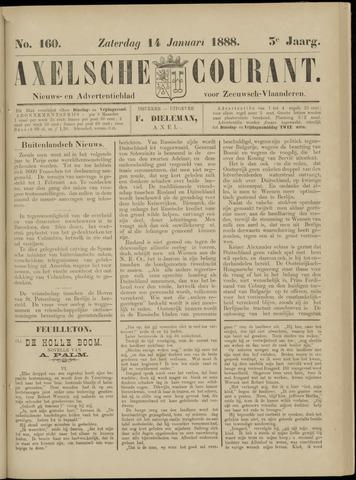 Axelsche Courant 1888-01-14