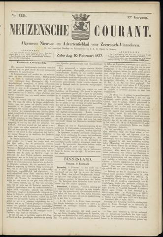 Ter Neuzensche Courant. Algemeen Nieuws- en Advertentieblad voor Zeeuwsch-Vlaanderen / Neuzensche Courant ... (idem) / (Algemeen) nieuws en advertentieblad voor Zeeuwsch-Vlaanderen 1877-02-10