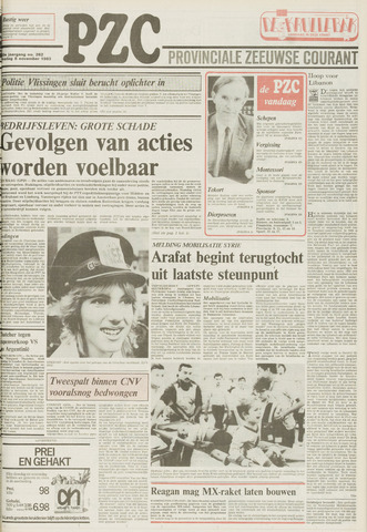 Provinciale Zeeuwse Courant 1983-11-08