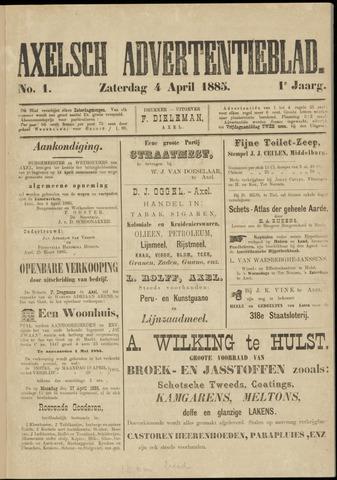 Axelsche Courant 1885