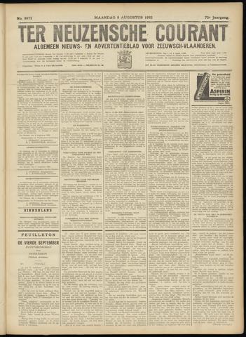 Ter Neuzensche Courant. Algemeen Nieuws- en Advertentieblad voor Zeeuwsch-Vlaanderen / Neuzensche Courant ... (idem) / (Algemeen) nieuws en advertentieblad voor Zeeuwsch-Vlaanderen 1932-08-08