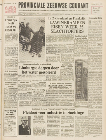 Provinciale Zeeuwse Courant 1970-02-25