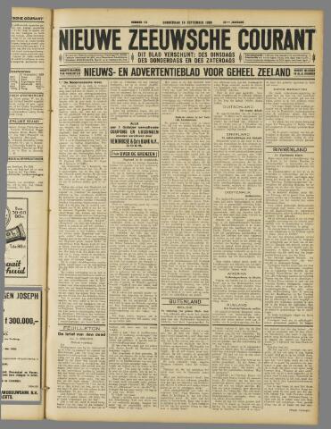 Nieuwe Zeeuwsche Courant 1929-09-26