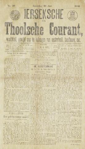 Ierseksche en Thoolsche Courant 1886-06-26