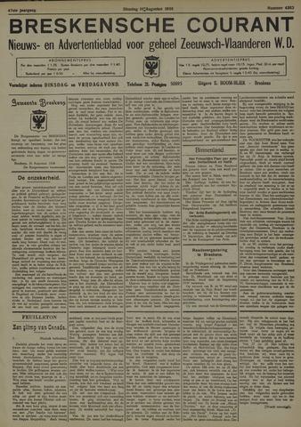Breskensche Courant 1938-08-16
