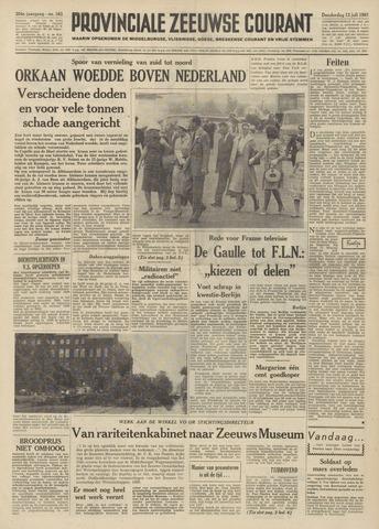 Provinciale Zeeuwse Courant 1961-07-13