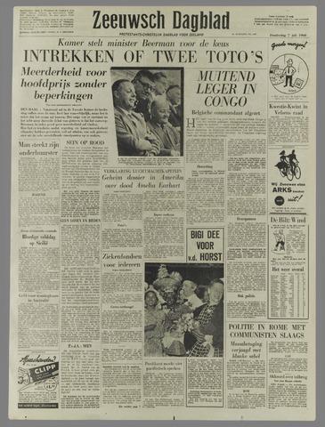 Zeeuwsch Dagblad 1960-07-07