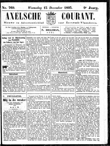 Axelsche Courant 1893-12-13