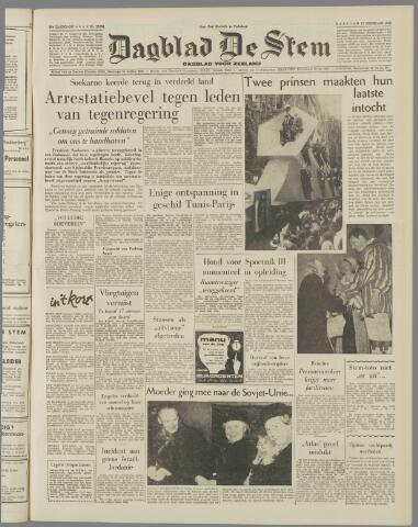 de Stem 1958-02-17