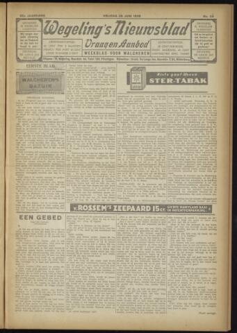 Zeeuwsch Nieuwsblad/Wegeling's Nieuwsblad 1929-06-28