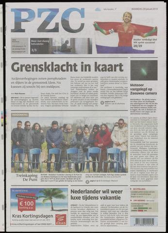 Provinciale Zeeuwse Courant 2014-01-20