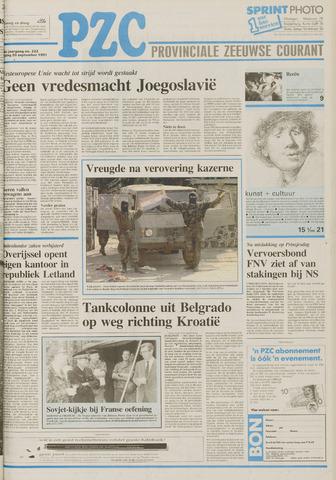 Provinciale Zeeuwse Courant 1991-09-20