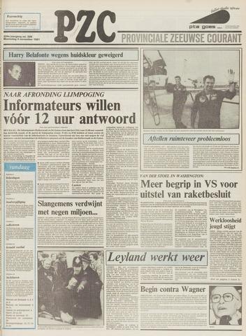 Provinciale Zeeuwse Courant 1981-11-04