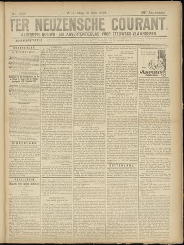 Ter Neuzensche Courant. Algemeen Nieuws- en Advertentieblad voor Zeeuwsch-Vlaanderen / Neuzensche Courant ... (idem) / (Algemeen) nieuws en advertentieblad voor Zeeuwsch-Vlaanderen 1928-05-16