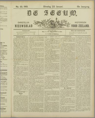 De Zeeuw. Christelijk-historisch nieuwsblad voor Zeeland 1901-01-22