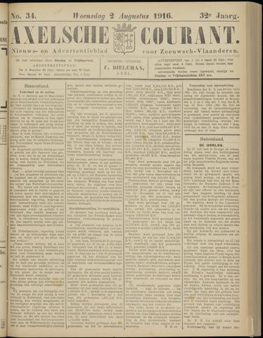 Axelsche Courant 1916-08-02