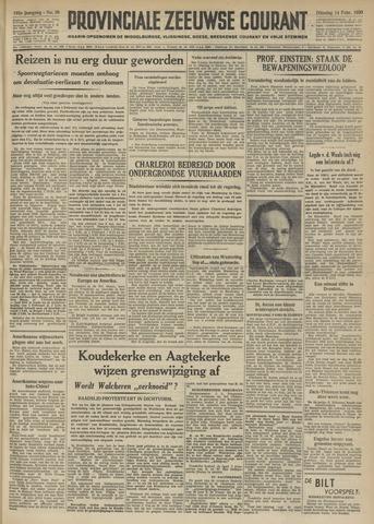 Provinciale Zeeuwse Courant 1950-02-14
