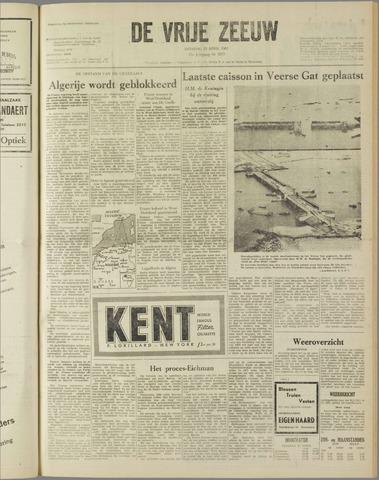 de Vrije Zeeuw 1961-04-25