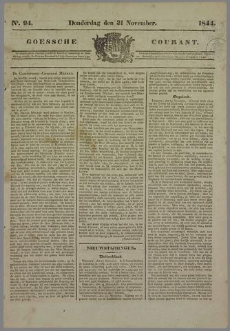 Goessche Courant 1844-11-21