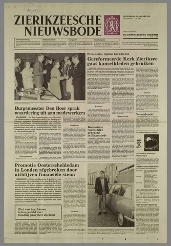 Zierikzeesche Nieuwsbode 1984-01-05