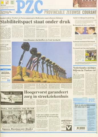 Provinciale Zeeuwse Courant 2003-11-07