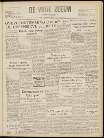 de Vrije Zeeuw 1952-02-27