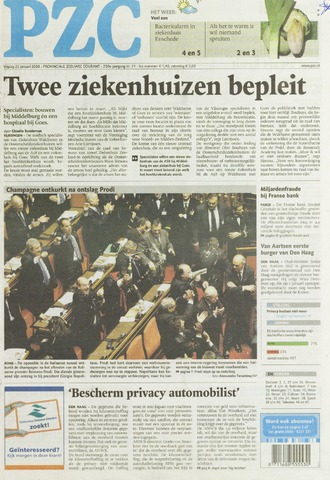 Provinciale Zeeuwse Courant 2008-01-25