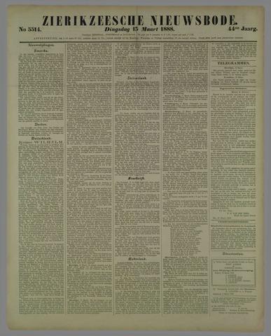 Zierikzeesche Nieuwsbode 1888-03-13