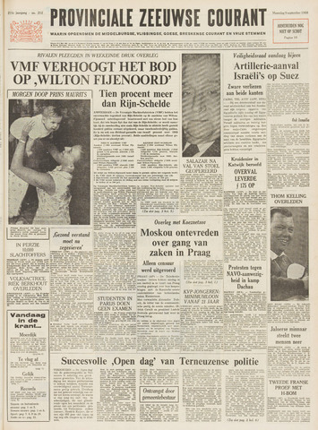Provinciale Zeeuwse Courant 1968-09-09