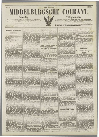 Middelburgsche Courant 1901-09-07