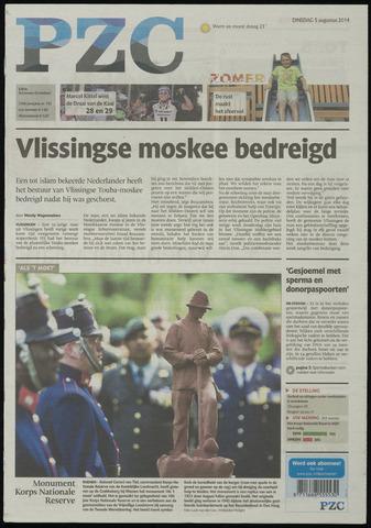 Provinciale Zeeuwse Courant 2014-08-05