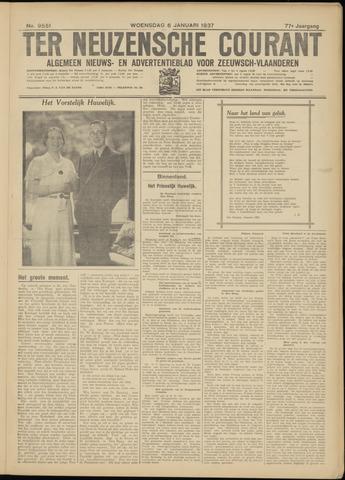 Ter Neuzensche Courant. Algemeen Nieuws- en Advertentieblad voor Zeeuwsch-Vlaanderen / Neuzensche Courant ... (idem) / (Algemeen) nieuws en advertentieblad voor Zeeuwsch-Vlaanderen 1937-01-06
