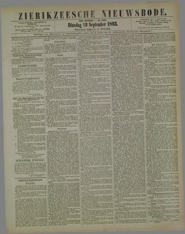 Zierikzeesche Nieuwsbode 1893-09-19