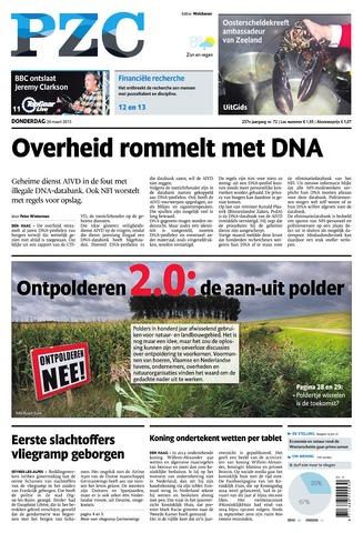 Provinciale Zeeuwse Courant 2015-03-26