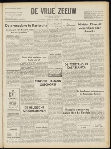 de Vrije Zeeuw 1952-12-10