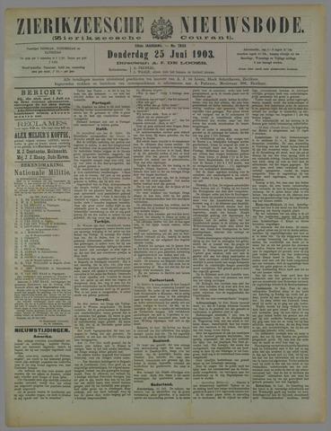 Zierikzeesche Nieuwsbode 1903-06-25