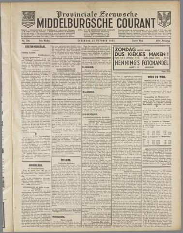 Middelburgsche Courant 1932-10-22