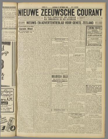 Nieuwe Zeeuwsche Courant 1930-09-27