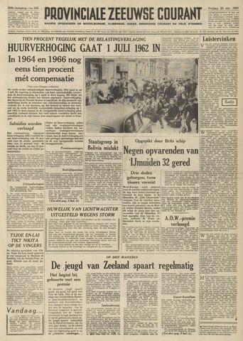 Provinciale Zeeuwse Courant 1961-10-20