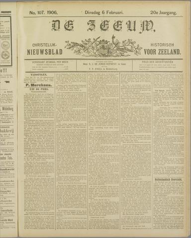 De Zeeuw. Christelijk-historisch nieuwsblad voor Zeeland 1906-02-06