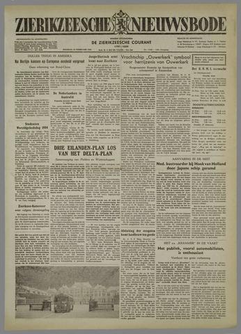 Zierikzeesche Nieuwsbode 1954-02-23