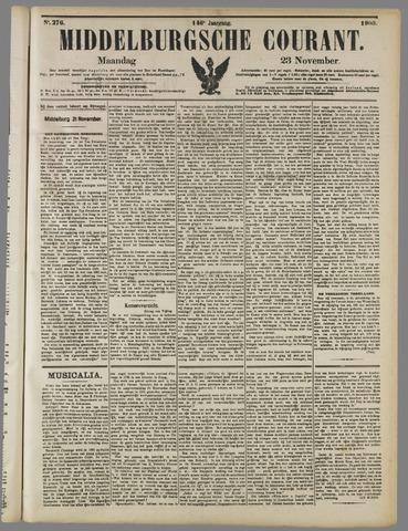 Middelburgsche Courant 1903-11-23